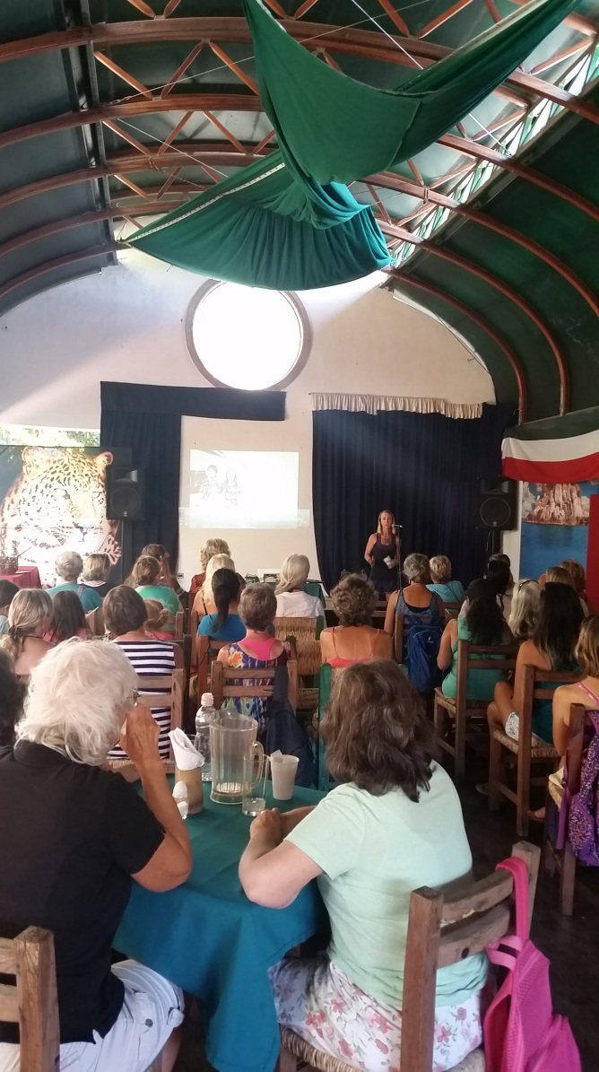 Women in Sailing Event featuring recent circumnavigators Diane/Evan/Miya and S/V Shawnigan speaking about fitness aboard and life for teens!