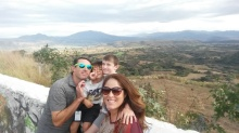Road trip through the Sierra Madre mountains and blue agave fields