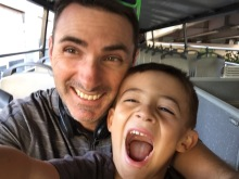 Fun on our bus tour of GDL